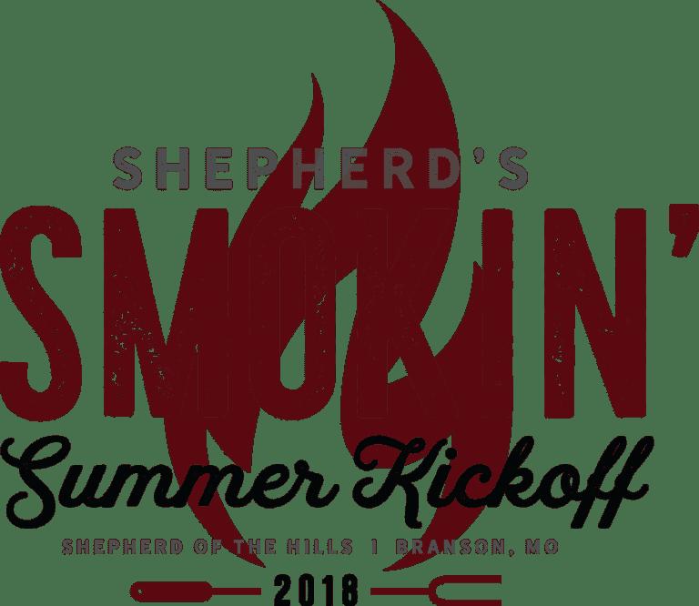 Shepherd's smokin' summer kickoff 2018 logo