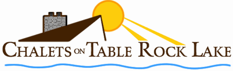 Chalets on table rock lake logo