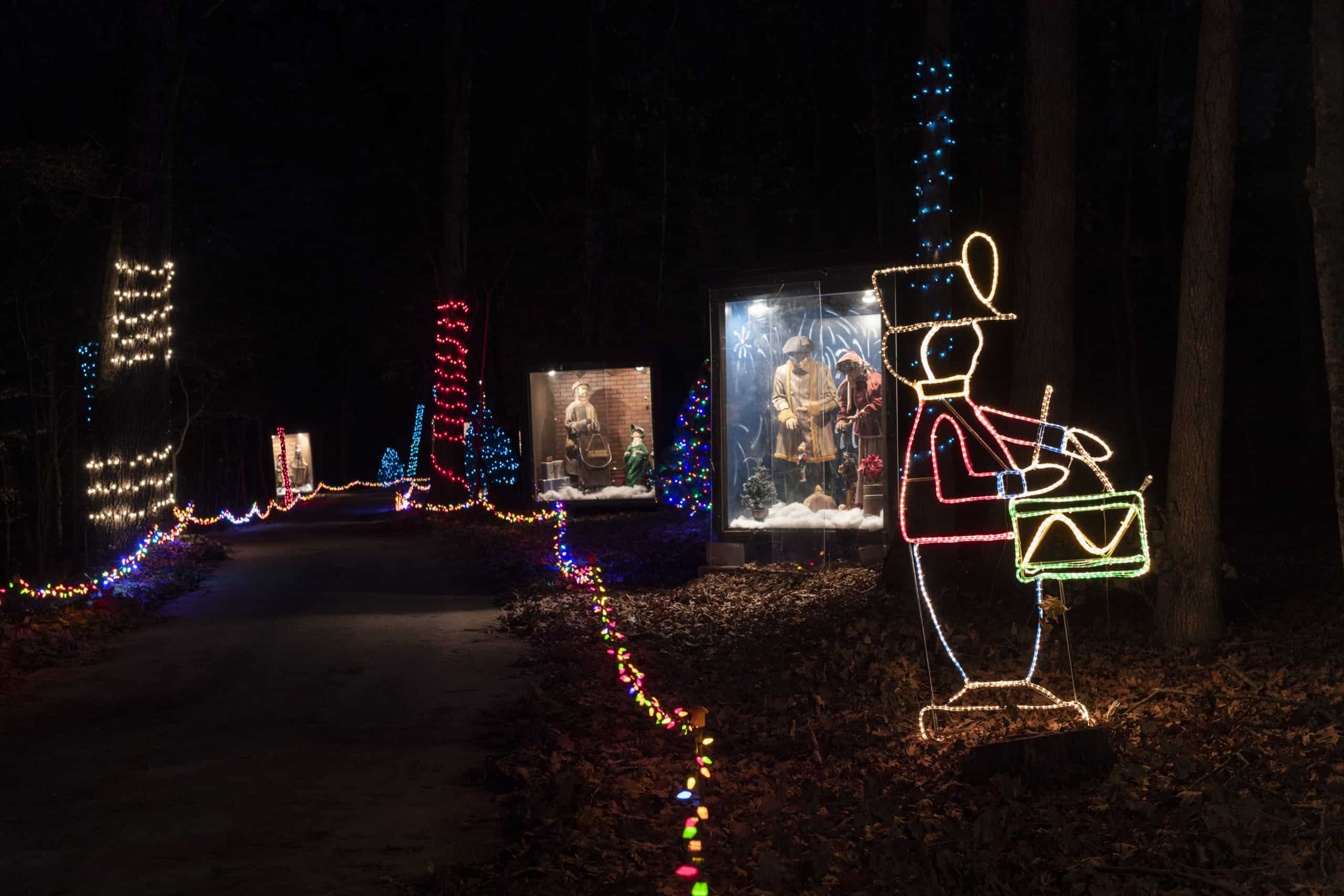 Branson's #1 Drive Though   Trail of Lights   Shepherd of the Hills